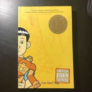 American Born Chinese by Gene Luen Yang (ENG234: children's lit)