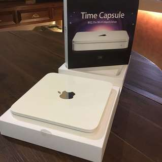 Apple Time Capsule 2TB 802.11n WiFi Hard Drive