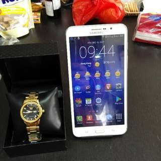 Samsung W 7.0  Tablet Phone  599.00 With  Free New Ladies Gold Quartz Watch