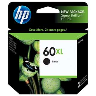 HP 60XL orig ink cartridge 原裝墨盒