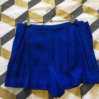 Blue forever new shorts M