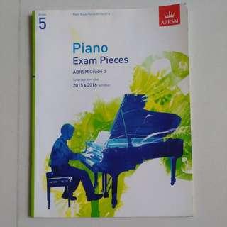 Grade 5 Piano Exam Pieces