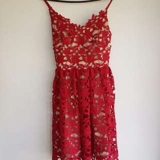 Two Sisters Lace Dress