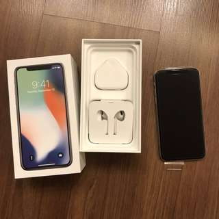 Unused Apple iPhone X 64GB