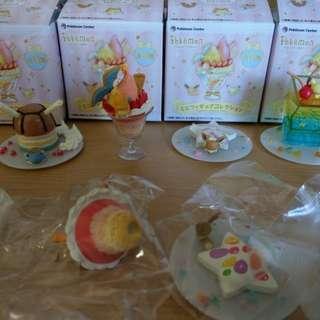 Pokemon Dessert Plate figurines