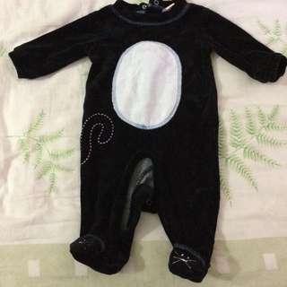 Penguin bodysuit/babygrow 0-3months