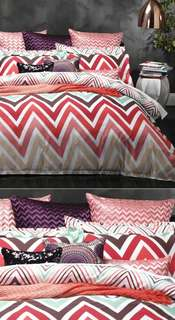 Logan & Mason Carnival Multi - Queen Bed Quilt Cover Set