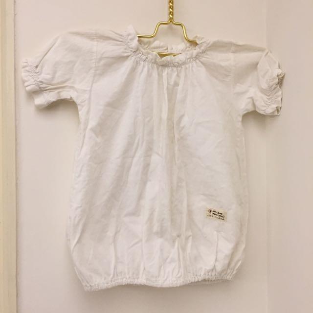 ❤️女童天然畫布100%有機棉上衣❤️
