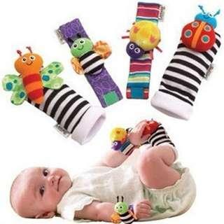 Bettle & Butterfly Baby Socks