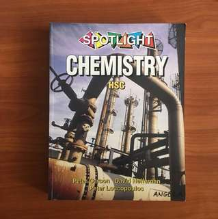 spotlight HSC chemistry textbook