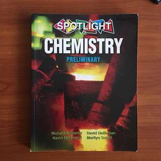 spotlight preliminary chemistry textbook