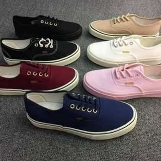 VANS AUTHENTIC (Actual Photo) LIMITED STOCKS ONLY ✔