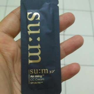 SUM 37 Air Rising CC Cream Sample Sachet 1 ml