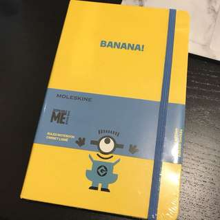 Moleskine Minions Limited Edition Notebook - BANANA!