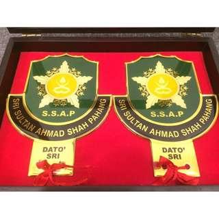 Dato Sri Car Badge