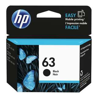 HP 63 orig ink cartridge 原裝墨盒