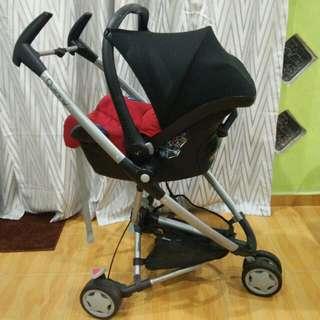 Utk dijual.. Stroller + carrier + carseat.. Bucket boleh cabut daripada kaki.. Sesuai utk bayi sehingga berat 20kg..