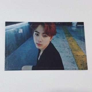 Bts Jin dark & wild photocard