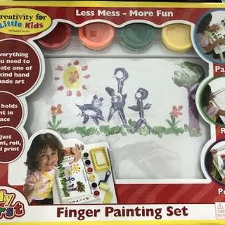 Finger painting set