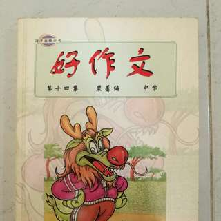 Chinese essay book.