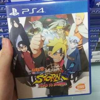 PS4 Naruto Shippuden - Road to Boruto