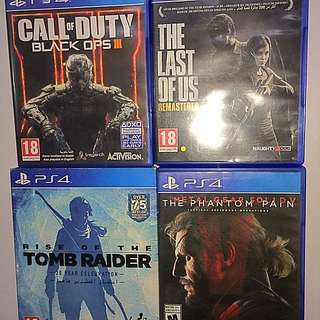 PS4 Brand New Games