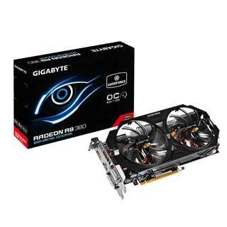 Gigabyte GV-R938WF2OC-2GD (AMD Radeon™ R9 380 2GB)