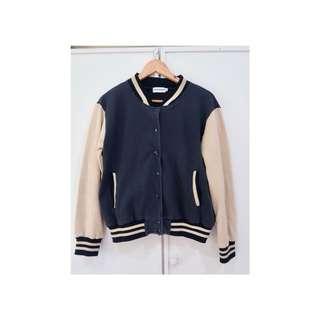 Topman classic varsity jacket