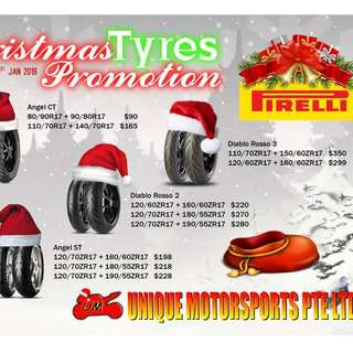 Tyres promotion (December 2017)