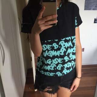 B.Bam Bambina General Pants short sleeve top size xs