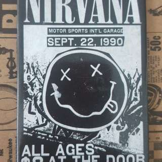 Nirvana x Typo collectible fridge magnet