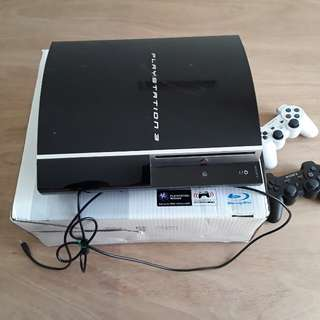 PS 3 (160GB) BLACK 90%