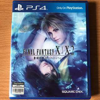 Ps4 Final Fantasy X/ X2 HD Remastered