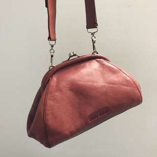 Authentic MIU MIU KISSLOCK Bag