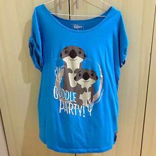 Authentic Giordano Finding Dory Shirt (Large)