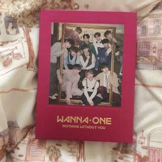 Wanna One Album One Ver. Nothing Without You