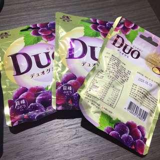 DUO 森永都歐雙層QQ軟糖 即期品
