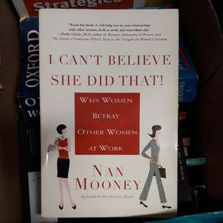 Nan Mooney book