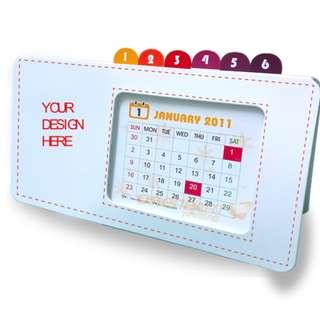 Printing of Full Color Eco- Calendar ( min 100 sets)