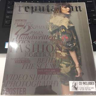 Taylor Swift special edition Vol 2  Reputation CD + Magazine + collectibles