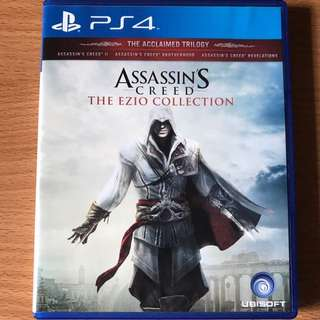 Ps4 Assassin Creed Ezio Collection