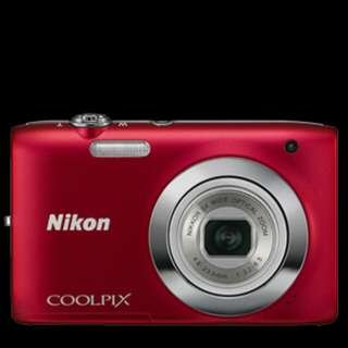 Nikon Coolpix S2600 DIGITAL CAMERA