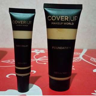 Make-up Bundle: Foundation and Concealer in shade Nude