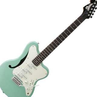 FS/Trade: Italia Imola (6 pickup) electric guitar with Peavy Transformer 112 Amp (Like new)