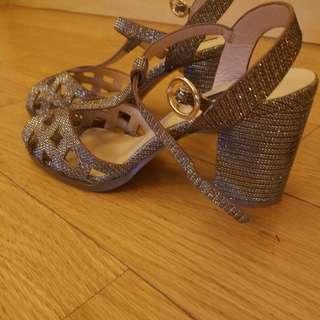 Topshp bling bling heeled sandal
