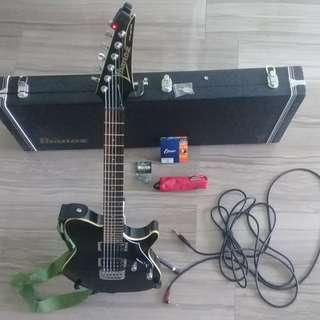 Ibanez FR320 LIKE NEW electric guitar Black