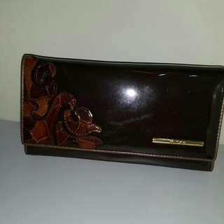 Authentic Bonia crossbody wallet