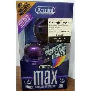 X-Mini MAX XAM15 Portable Capsule Speakers