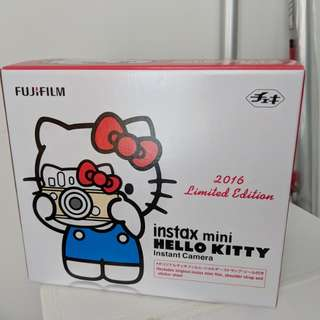 Fujifilm Fuji Instax Mini Hello Kitty Camera 2016 Limited Edition (Brand New)