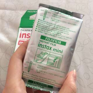 Refill instax / isi polaroid loose pack